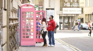 Temptation Telephone Pink Booth