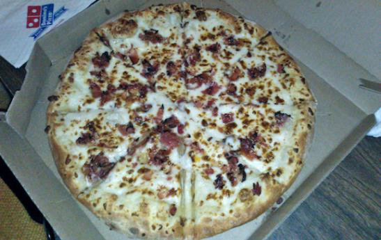Not the pizza in question. (Morton Fox)