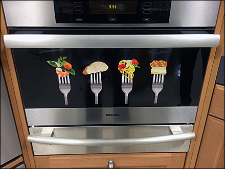Miele Steamer Point of Purchase